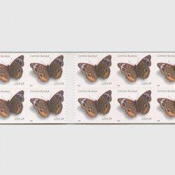 アメリカ 2006年アメリカタテハモドキ切手帳ペーン