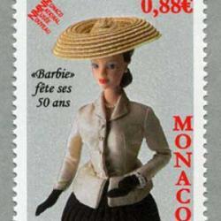 モナコ 2009年バービー人形誕生50年