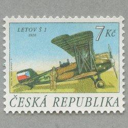 チェコ共和国 1997年複葉機「Letov s1」
