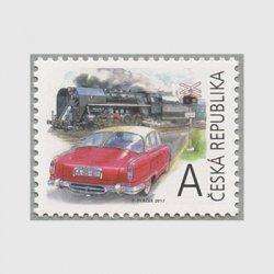 チェコ共和国 2017年クラシックカーとSL