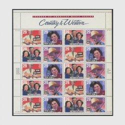 アメリカ 1993年カントリー・アンド・ウェスタン歌手シート