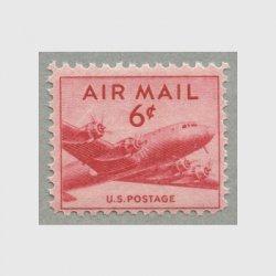 アメリカ 1949年航空切手6c