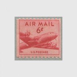 アメリカ 1949年航空切手コイル6c