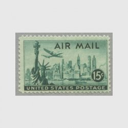 アメリカ 1947年航空切手15c
