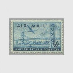 アメリカ 1947年航空切手25c