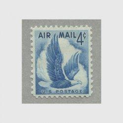 アメリカ 1954年航空切手ワシ4c
