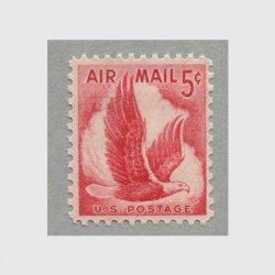 アメリカ 1958年航空切手ワシ5c