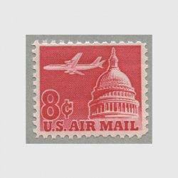 アメリカ 1962年航空切手 8c