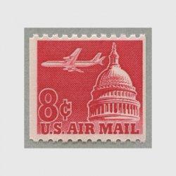 アメリカ 1962年航空切手 8cコイル