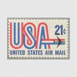 アメリカ 1971年航空切手 21c
