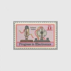アメリカ 1973年航空切手 電子工学の進歩
