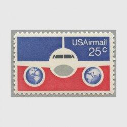 アメリカ 1976年航空切手 25c