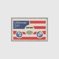 アメリカ 1976年航空切手 31c