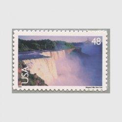 アメリカ 1999年航空切手 ナイアガラの滝