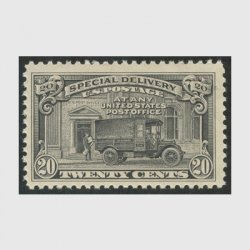 アメリカ 1925年特別配達切手 郵便トラック(目打11)