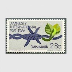 デンマーク 1986年アムネスティインターナショナル25年