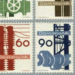 デンマーク 1968年産業4種