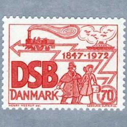 デンマーク 1972年デンマーク鉄道125年
