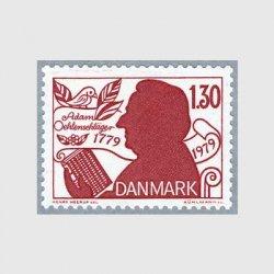 デンマーク 1979年詩人Adam Oehlenschlager