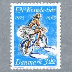 デンマーク 1985年自転車にのる女性