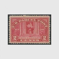 アメリカ 1912年小包切手2c未使用NH