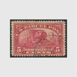 アメリカ 1912年小包切手5c※使用済