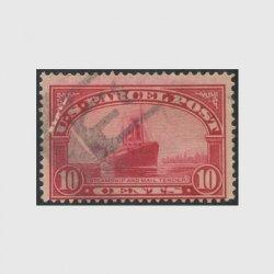 アメリカ 1912年小包切手10c※使用済