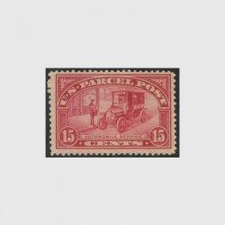アメリカ 1912年小包切手15c未使用NH(stus_q007_1)