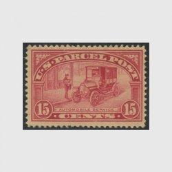 アメリカ 1912年小包切手15c未使用※糊補修(stus_q007_2)