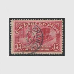 アメリカ 1912年小包切手15c※使用済(stus_q007_3u)