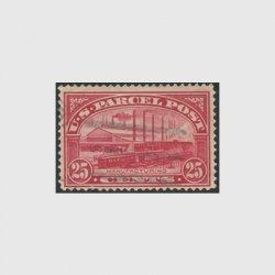 アメリカ 1912年小包切手 25c※使用済(stus_q009_2u)