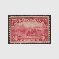 アメリカ 1913年小包切手 50c※ヒンジ(stus_q010_1)