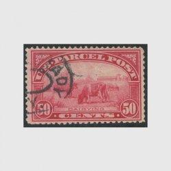 アメリカ 1913年小包切手 50c※使用済(stus_q010_2u)