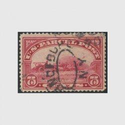 アメリカ 1912年小包切手 50c※使用済(stus_q011_1u)