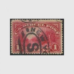 アメリカ 1913年小包切手$1※使用済(stus_q012_2u)