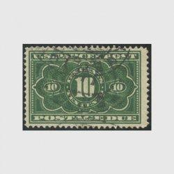 アメリカ 1912年小包不足料切手10c※使用済(stus_jq004_1u)