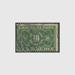 アメリカ 1912年小包不足料切手10c※使用済(stus_jq004_2u)