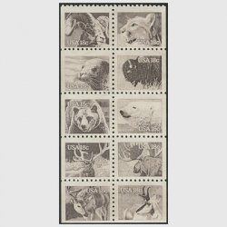アメリカ  1981年野生動物10種