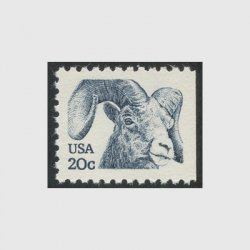 アメリカ  1982年オオツノヒツジ