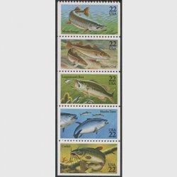 アメリカ 1986年魚5種