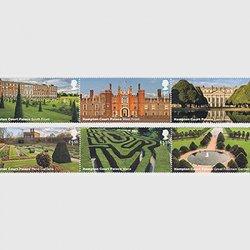 イギリス 2018年ハンプトン・コート宮殿6種