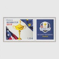 フランス 2018年ライダーカップ タブ付