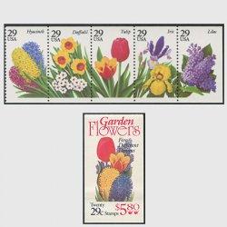 アメリカ 1993年ガーデンフラワー5種