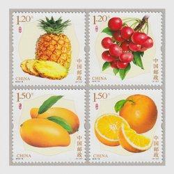 中国 2018年果物3次4種