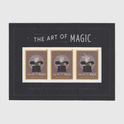 アメリカ 2018年マジック芸術小型シート
