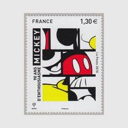 フランス 2018年ミッキーマウス生誕90年