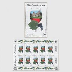 オーストリア 2018年ワインの産地ヴェストシュタイヤーマルク