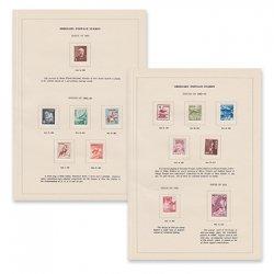 第2次動植物国宝切手(粗白紙13種)