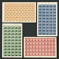 1940年紀元2600年50面シート4種