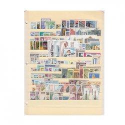外国切手テーマ別コレクション・建造物140種